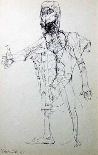Untitled, 1988 - Zdzislaw Beksinski