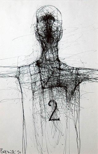 Untitled, 1990 - Zdzislaw Beksinski