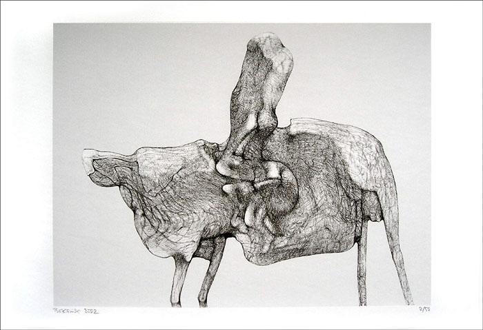 Untitled, 2002 - Zdzislaw Beksinski