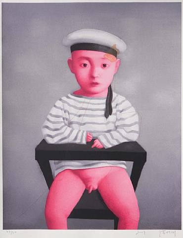 Little Navy, 2007 - Zhang Xiaogang