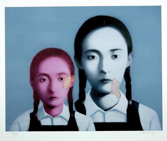 Two Sisters, 2003 - Zhang Xiaogang