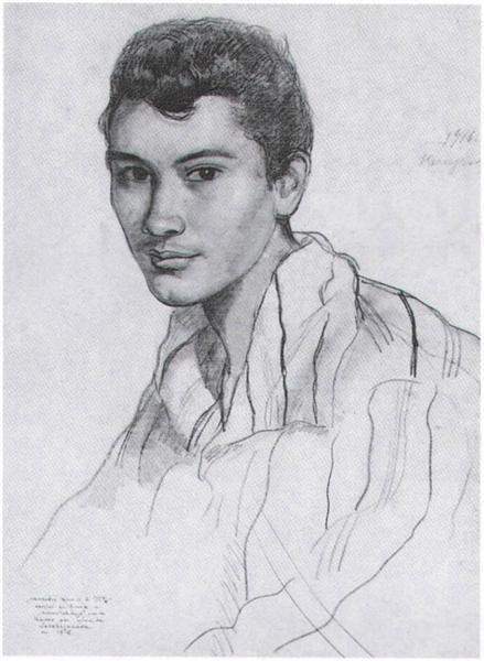 Levi Alexander Benois de Stetto, 1916 - Zinaida Serebriakova