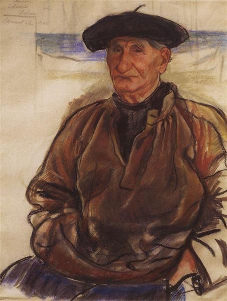 Old fisherman, 1926 - Zinaida Serebriakova