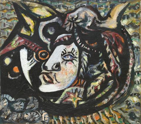 Mask, 1941 - Jackson Pollock