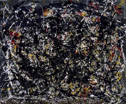 Number 6, 1949 - Jackson Pollock