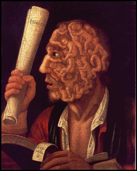 Портрет Адама, 1578 - Джузеппе Арчимбольдо
