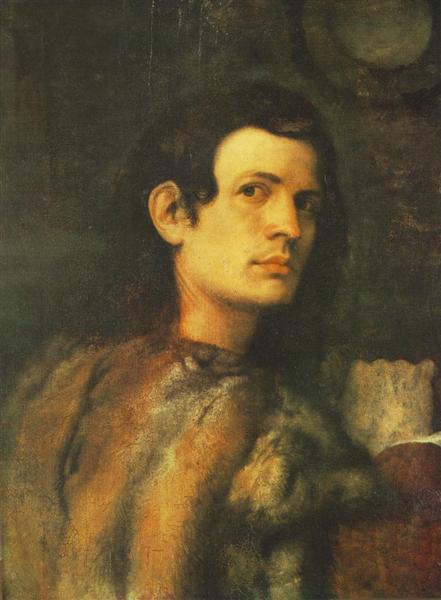 Portrait of young man - Джорджоне