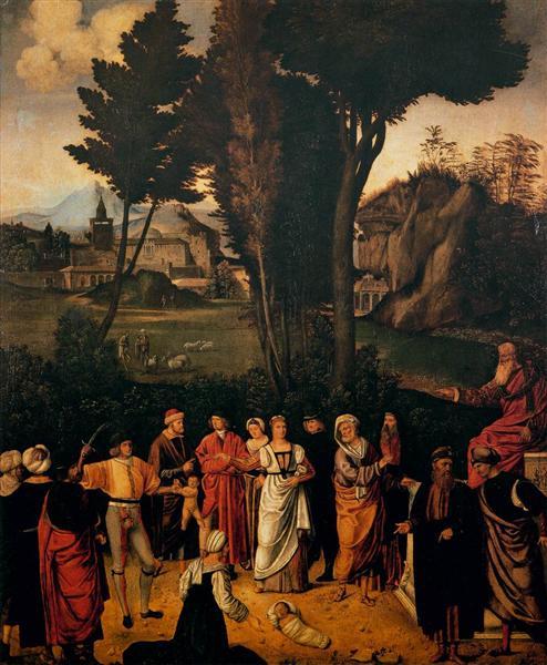 The Judgement of Solomon, 1505 - Giorgione