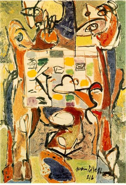 The Tea Cup, 1946 - Jackson Pollock