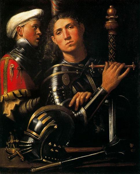Warrior with Groom, 1505 - 1510 - Giorgione